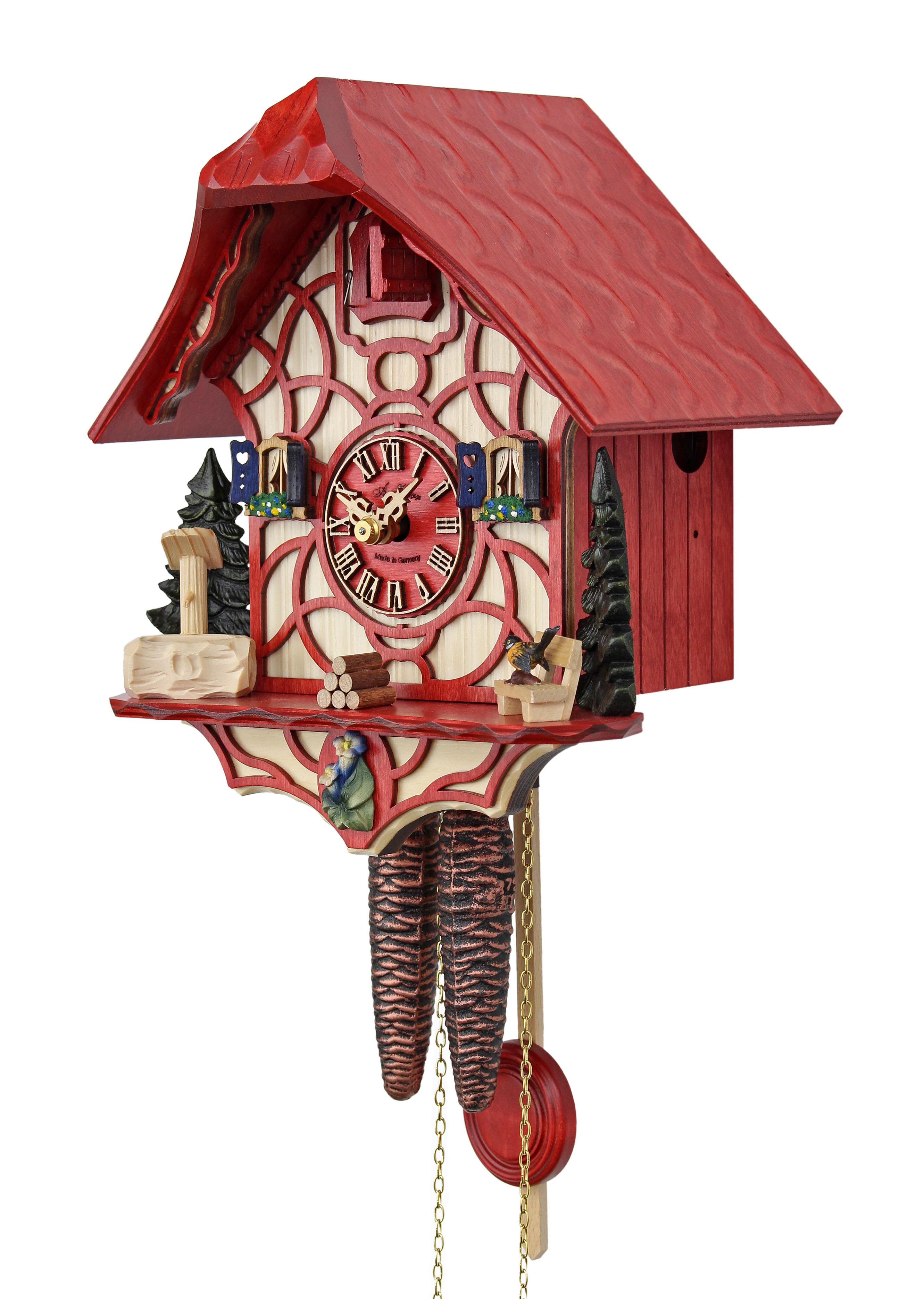 Magic Red HerrZeit by Adolf Herr HerrZeit Cuckoo Clock Home Dcor ...