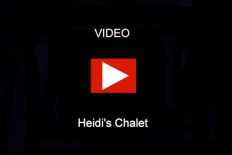 Engstler Kuckucksuhr - Heidi's Chalet  13 cm