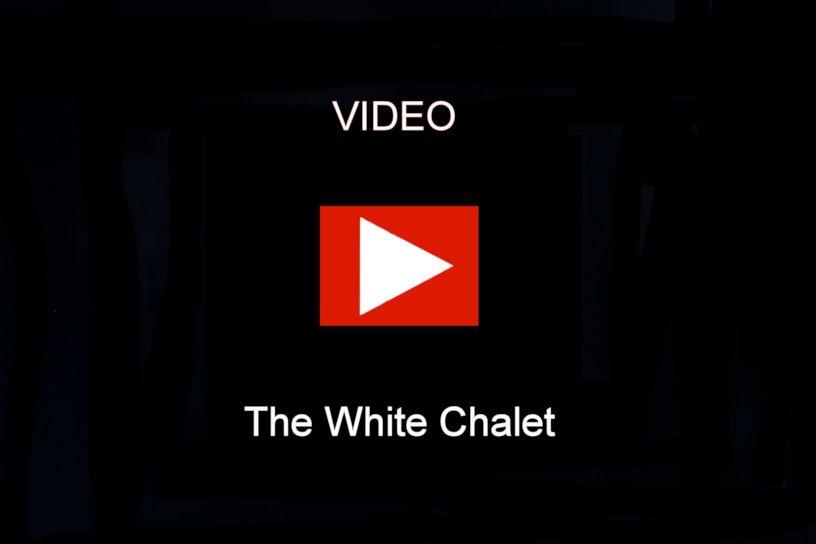 Engstler Kuckucksuhr - Das Weiße Chalet  13 cm