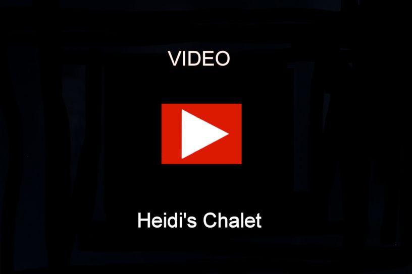 Engstler Kuckucksuhr - Heidi's Chalet  20 cm