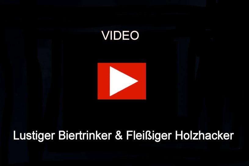 HerrZeit by Adolf Herr Kuckucksuhr - Der lustige Biertrinker & Der fleißige Holzhacker