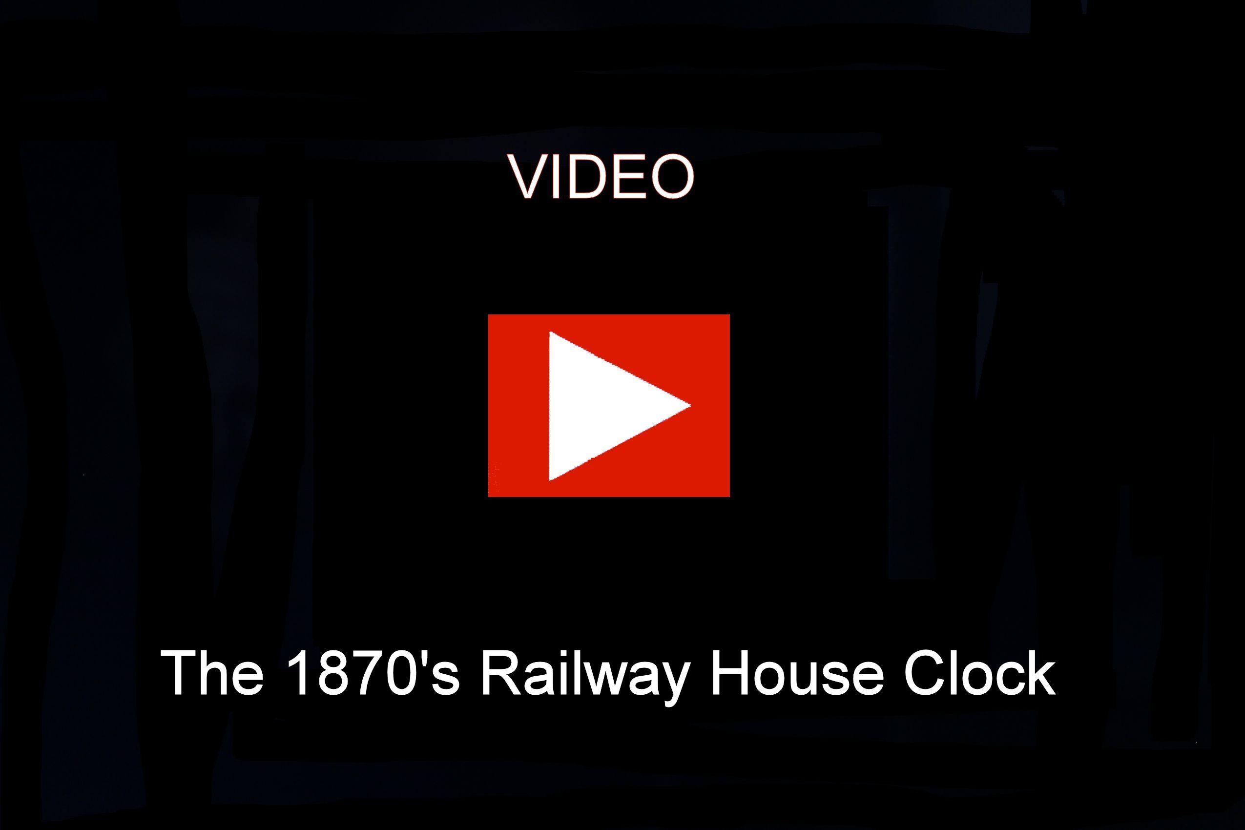 Adolf Herr Cuckoo Clock  - The 1870's Railway House Clock